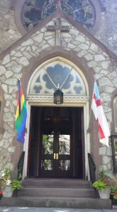 Trinity Rainbow Flag June 15 2016 - 2