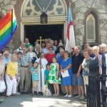 Trinity Rainbow Flag June 19 2016 - 3